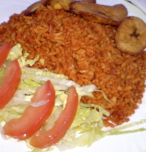 how to cook jollof rice with butter